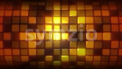 Abstract Cylinder With Light Tiles Background Loop Stock Video