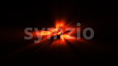 Abstract Light Burst Background Loop Stock Video