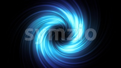 Abstract Spiral Vortex Background Loop Stock Video