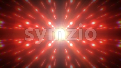Abstract Technology Starburst Background Loop Stock Video