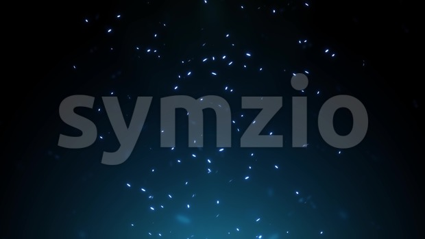 4k animation of an abstract background with light particles flying up and seamless looping