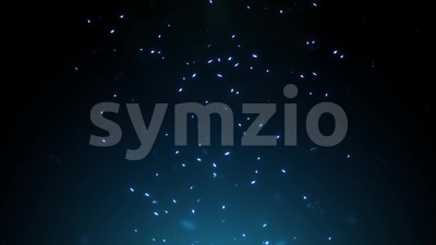 Abstract Shimmering Light Particles Background Stock Video