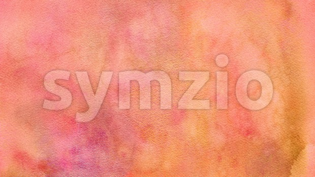 4k animation of an abstract textured background with paper grain and watercolor brushes for elegant presentation