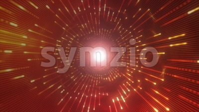 Abstract Light Tunnel For VJ Loops Stock Video