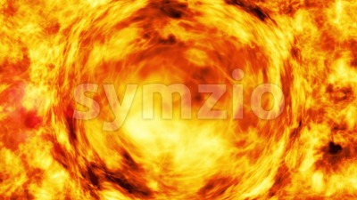 Abstract Fractal Energy Waves Background Loop Stock Video