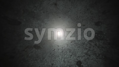 Abstract Dark 3d Tunnel Seamless Looping Stock Video