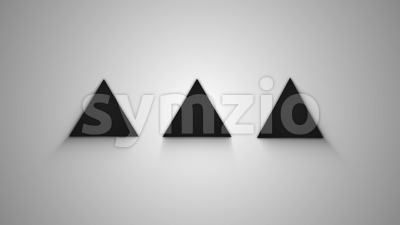 Minimal Design Dots Simple Preloader Stock Video