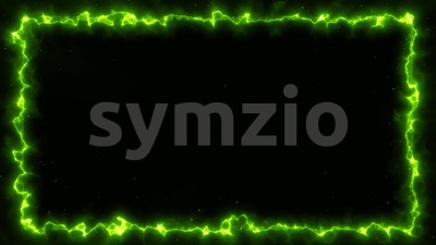 Abstract Energy Frame Background Loop Stock Video