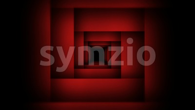 Abstract Geometry Maze Background Zoom Seamless Looping Stock Video
