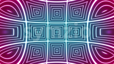 Abstract Hypnotic Kaleidoscope Background Loop Stock Video