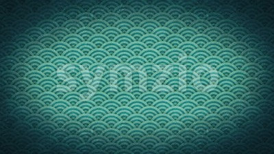 Abstract Japanese Patterns Ornaments Background Clip Stock Video