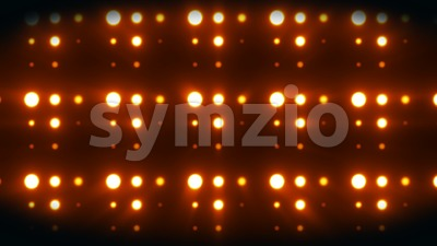 Abstract Digital Led Lights Technology Animation Loop Stock Video